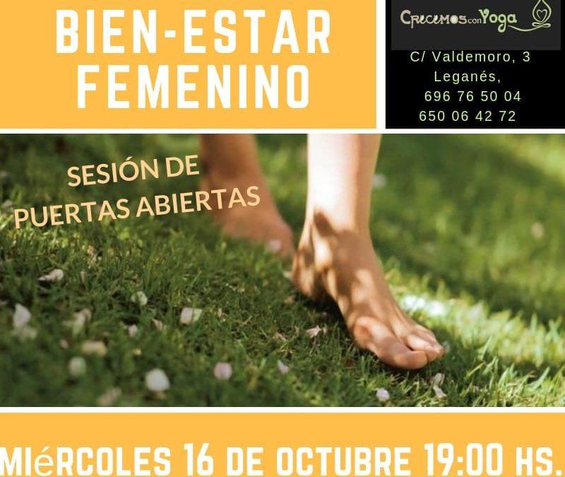Jornada de puertas abiertas: BIENESTAR FEMENINO